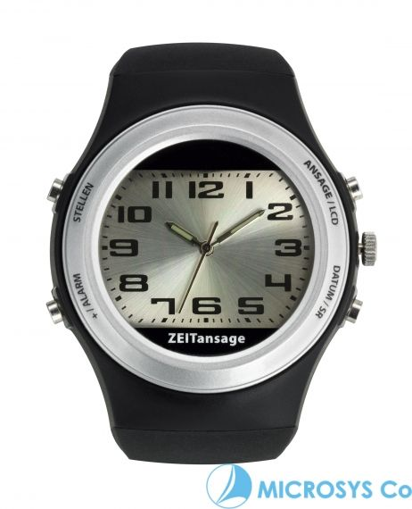 speaking wristwatch