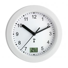 Bathroom clock with thermometer / Kat.№60.3501