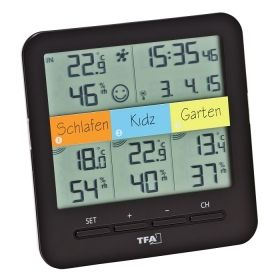 'KLIMA@HOME'  Wireless thermo-hygrometer also for operation with 'WEATHERHUB' gateway / Kat.№30.3060.01IT