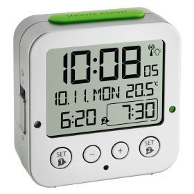 Digital Radio-controlled Alarm Clock With Temperature BINGO / Kat.№60.2528.02