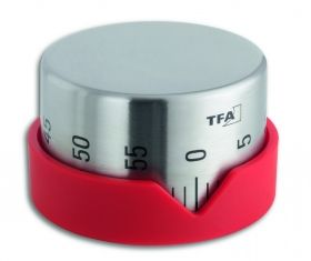 'Dot' kitchen timer  available in red and anthracite / Kat. Nr. 38.1027.10
