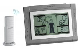 """Weather Boy XS"" - wireless weather station / Kat. Nr. 35.1064.10.50.IT"