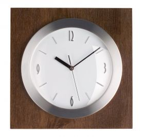 Analogue Wall Clock with Wooden Frame / Kat.№ 98.1067