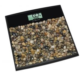 Digital Bathroom Scales with Pebbles ROCK 'N' ROLL / Кат.№50.1007.01
