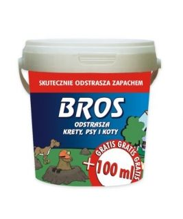 BROS - moles, dogs and cats repellent 350 ml + 100 ml
