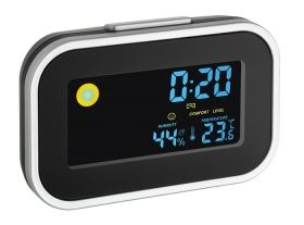 Digital alarm clock with room climate art./60.2015