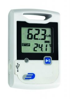 'Log20' data logger for temperature and humidity / Kat. Nr. 31.1053