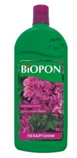 BIOPON geranium fertilizer