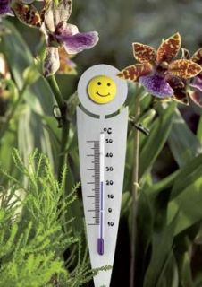 'Bloomy' flowerpot thermometer  various designs / Kat.№12.2056