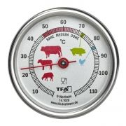 Analogue roast thermometer of stainless steel / Kat.№14.1028