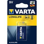 1 pc. VARTA LONGLIFE POWER 9V BATTERY  / Kat.BA-9V