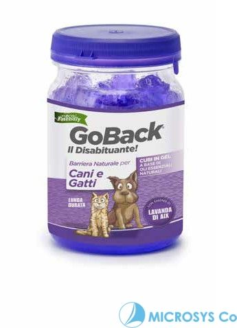 GOBACK CANI  GEL BLOCK 500 ml Lavanda