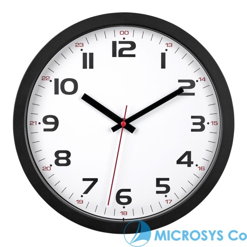 Analogue Wall Clock Kat 60 3050 01 Tfa Bg Microsys Co Ltd