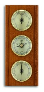 Weather station - walnut  / Kat. Nr. 20.1002.03