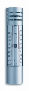 Analogue Maxima-Minima-Thermometer made of Aluminium / Кат.№10.2007