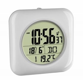 Clock with digital radio bath with temperature display / Kat.№60.4513.02