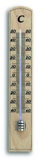 Analogue Indoor Thermometer Made of Beech / Kat.№12.1005