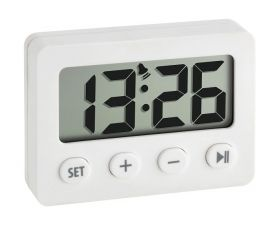 Digital Alarm Clock With Timer And Stopwatch