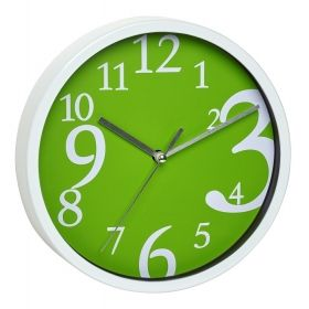 Wall clock  available in green / Kat. Nr. 60.3034.04
