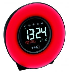 Light alarm clock with nature sounds and colour changing mood light MOOD LIGHT / Kat.№60.2023.02