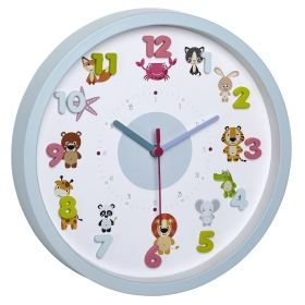 Children's Wall Clock LITTLE ANIMALS | LITTLE MONSTERS / Kat.№60.3051.14