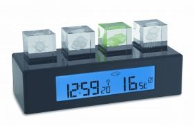 Wireless Weather Station with 3D Display CRYSTAL CUBE / Kat.№35.1110