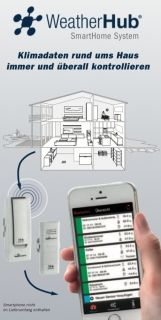 WEATHER HUB Starter Set with Wireless Wind Meter  / Kat.№31.4006.02