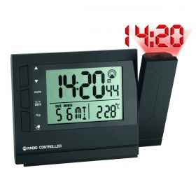 Radio-Controlled Projection Alarm Clock with Temperature / Kat.№60.5008