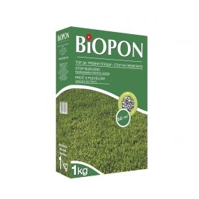 BIOPOSpecialised fertiliser for weedy lawns.
