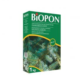 BIOPON conifer fertilizer with needle browning control