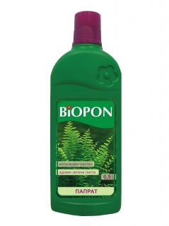 BIOPON fern fertilizer