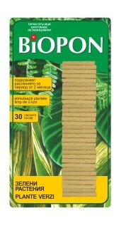 BIOPON foliage plant fertilising sticks