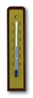 Analogue Indoor Thermometer made of Walnut / Kat.№12.1009
