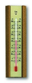 Analogue Indoor Thermometer made of Oak / Kat.№12.1014