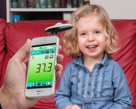 Ifrared Thermometer for Smartfone
