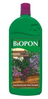 BIOPON balcony plant fertilizer