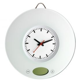 kitchen scale with quartz clock / Art.№60.3002